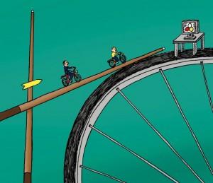 Waarom bestuurders zouden moeten leren fietsen