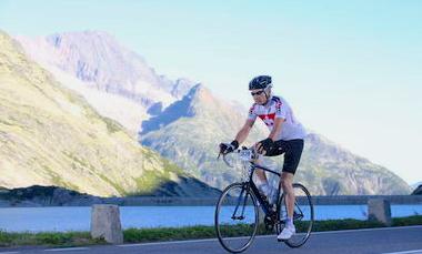 Hans beklimt Mont Ventoux